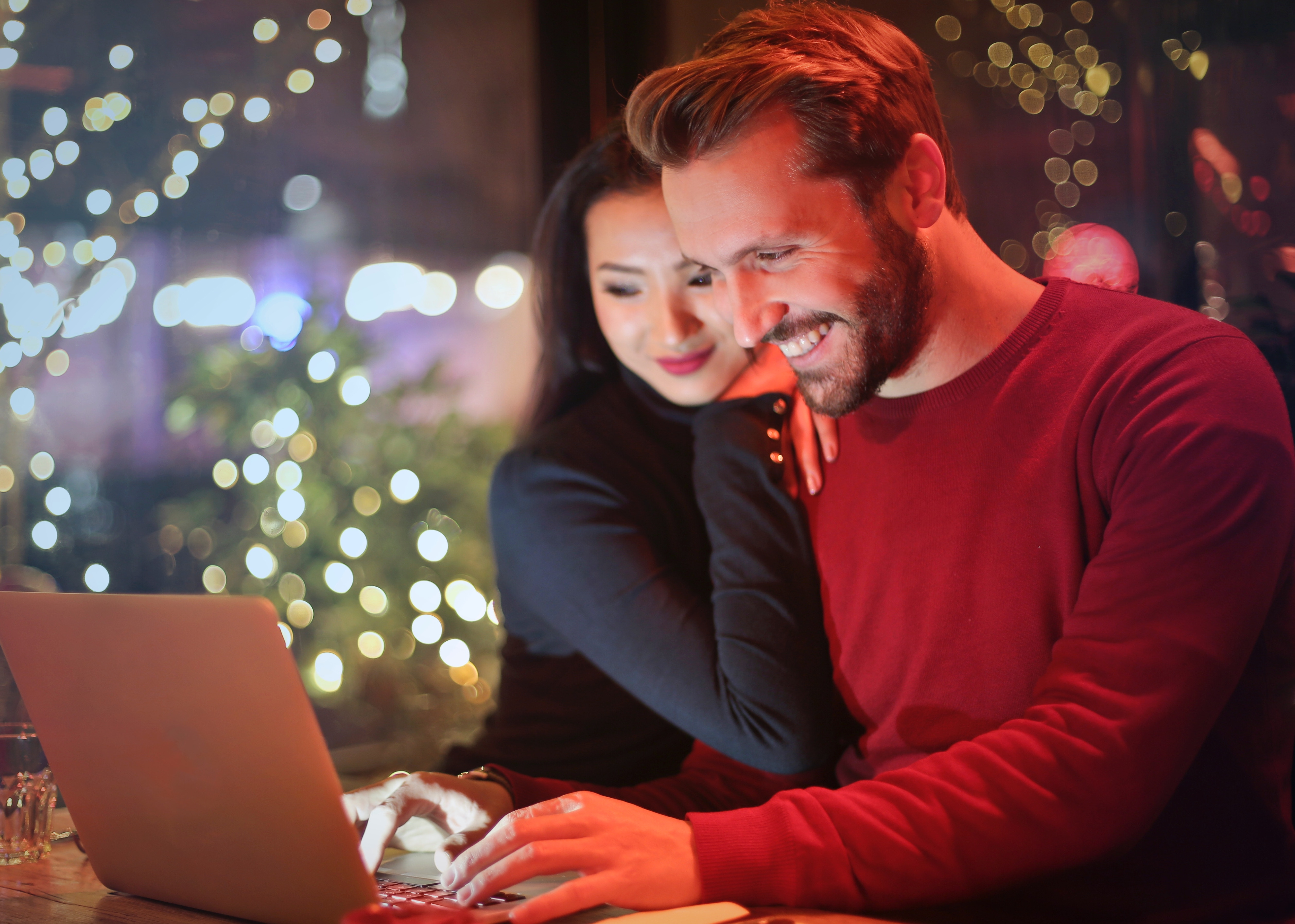 Couple looking into a Health Savings Account