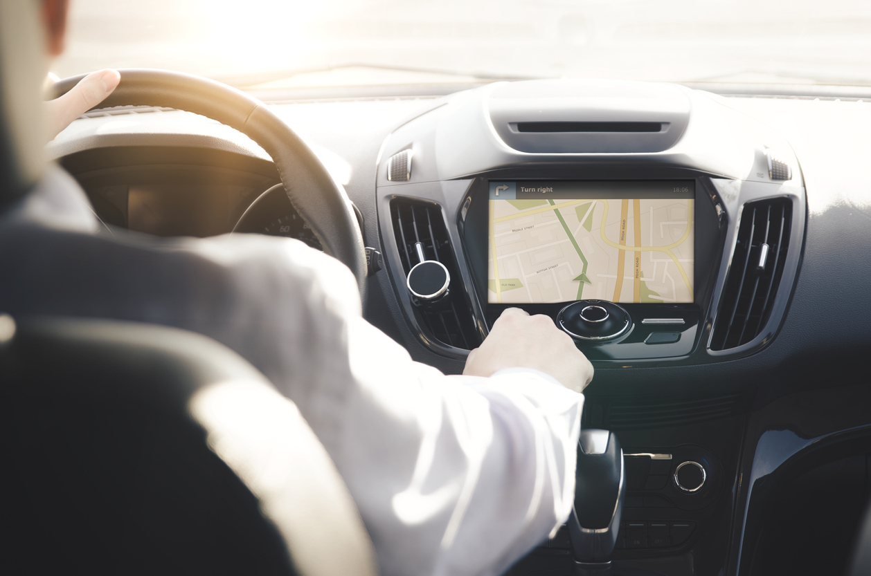 Driving a business vehicle that you lease with GPS